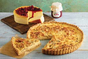 Combo Quiche & New York Cheesecake