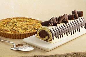 Quiche & Tentación de Chocolates